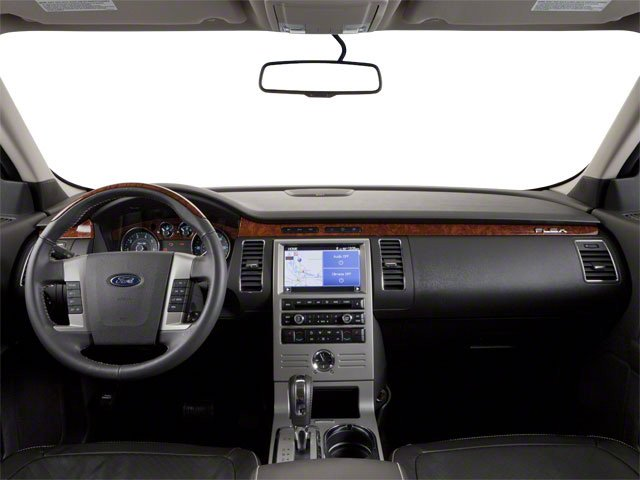 2010 Ford Flex Prices and Values Wagon 4D SEL 2WD full dashboard