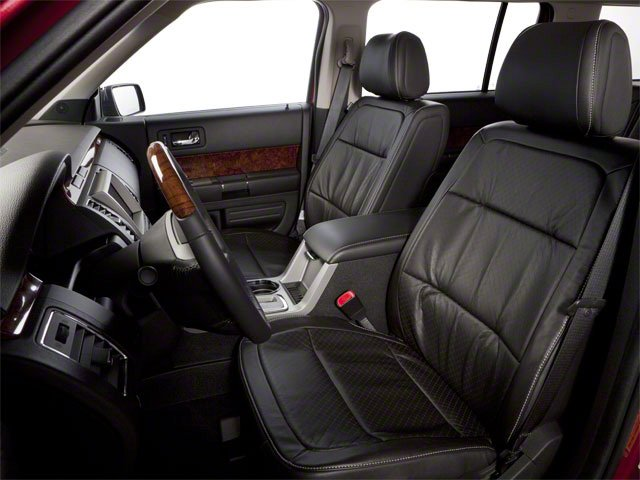 2010 Ford Flex Prices and Values Wagon 4D SEL 2WD front seat interior