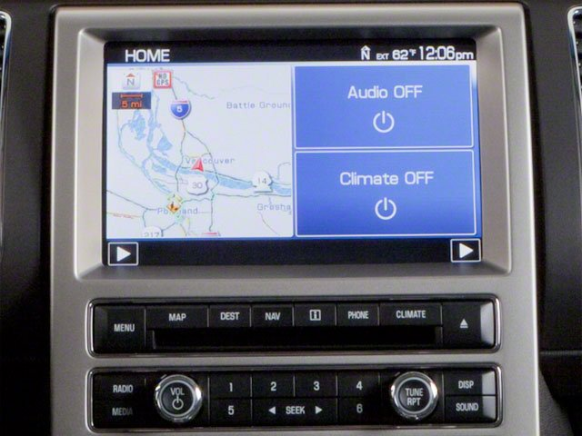 2010 Ford Flex Prices and Values Wagon 4D SEL 2WD stereo system