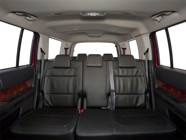 2010 Ford Flex Prices and Values Wagon 4D SEL 2WD backseat interior