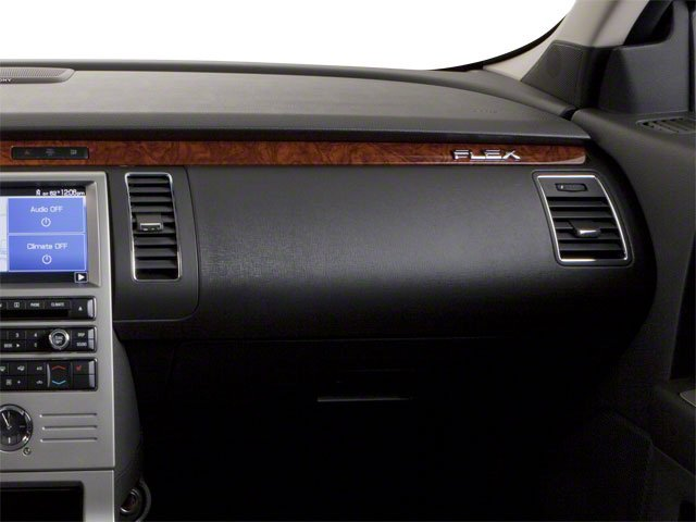 2010 Ford Flex Prices and Values Wagon 4D SEL 2WD passenger's dashboard