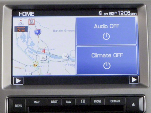 2010 Ford Flex Prices and Values Wagon 4D SEL 2WD navigation system