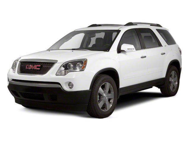 2010 GMC Acadia Pictures Acadia Wagon 4D SLT AWD photos side front view