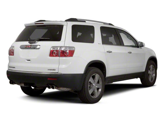 2010 GMC Acadia Pictures Acadia Wagon 4D SLT AWD photos side rear view