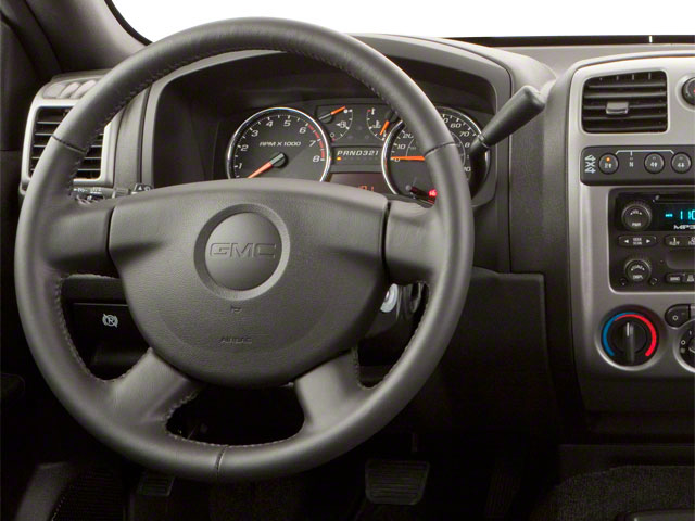 2010 GMC Canyon Prices and Values Crew Cab SLE driver's dashboard