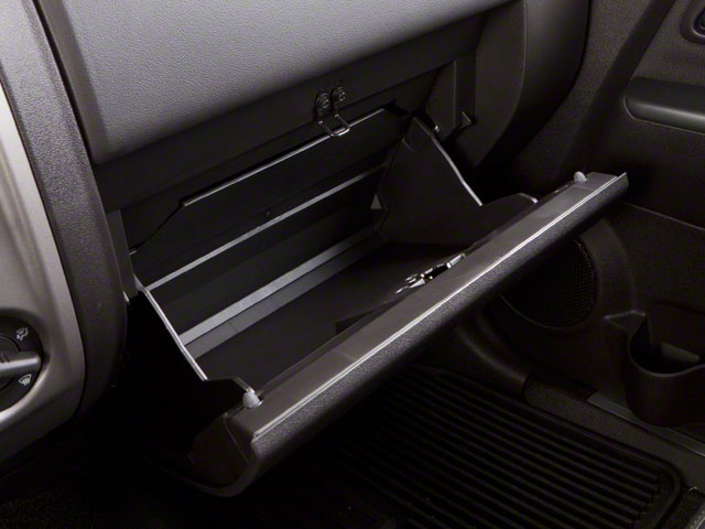 2010 GMC Canyon Prices and Values Crew Cab SLE glove box