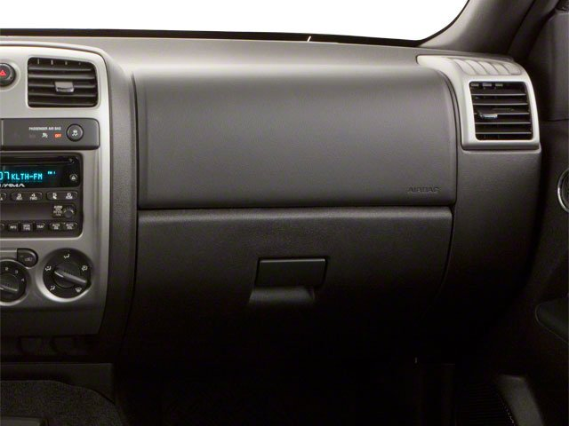 2010 GMC Canyon Prices and Values Crew Cab SLE passenger's dashboard