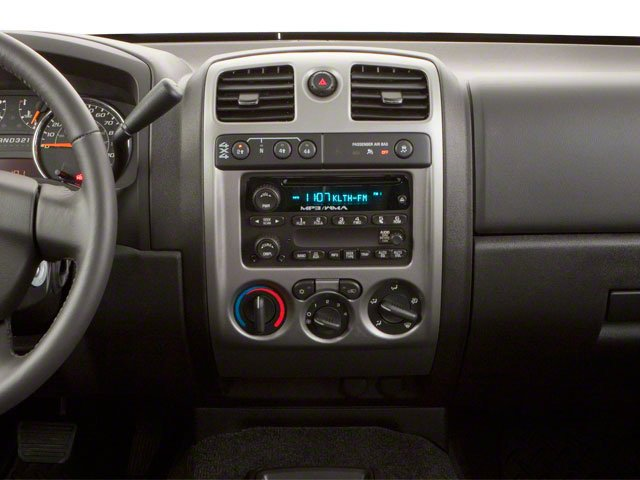 2010 GMC Canyon Prices and Values Crew Cab SLE center dashboard