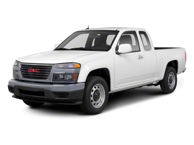 2010 GMC Canyon Prices and Values Extended Cab SLE side front view