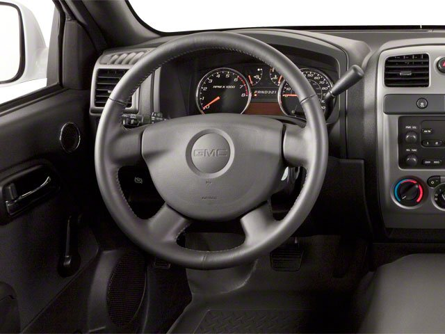 2010 GMC Canyon Prices and Values Extended Cab SLE driver's dashboard
