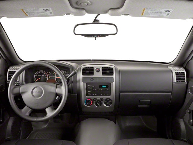 2010 GMC Canyon Prices and Values Extended Cab SLE full dashboard
