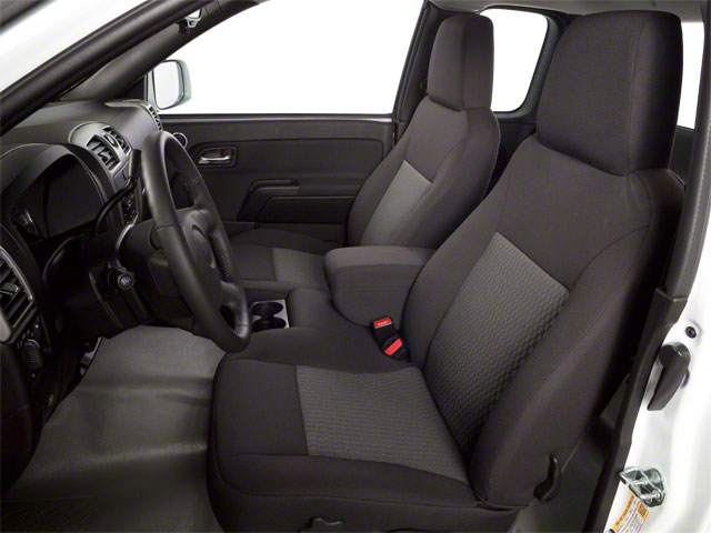 2010 GMC Canyon Prices and Values Extended Cab SLE front seat interior