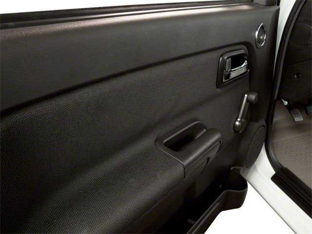 2010 GMC Canyon Prices and Values Extended Cab SLE driver's door