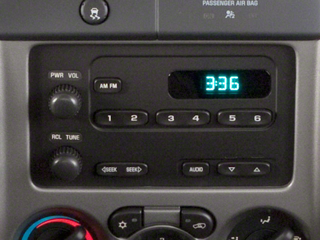 2010 GMC Canyon Prices and Values Extended Cab SLE stereo system