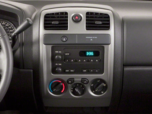 2010 GMC Canyon Prices and Values Extended Cab SLE center console