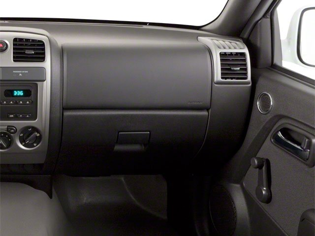 2010 GMC Canyon Prices and Values Extended Cab SLE passenger's dashboard