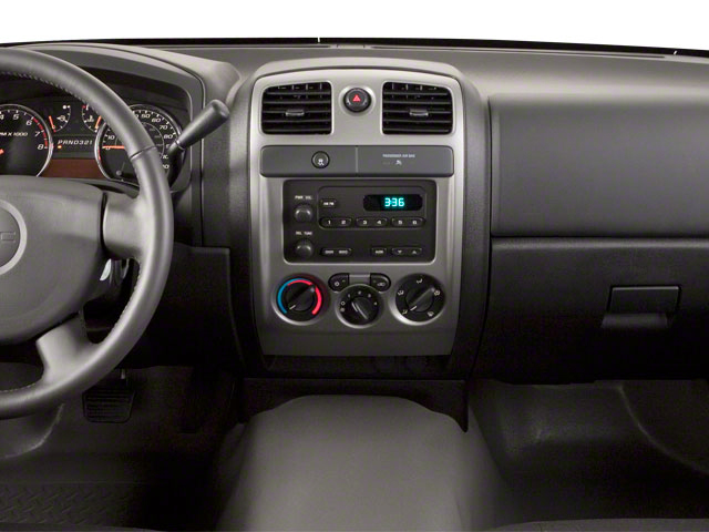 2010 GMC Canyon Prices and Values Extended Cab SLE center dashboard