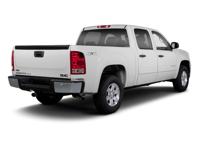 2010 GMC Sierra 1500 Pictures Sierra 1500 Crew Cab SL 4WD photos side rear view