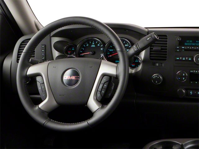 2010 GMC Sierra 1500 Prices and Values Crew Cab XFE 2WD driver's dashboard