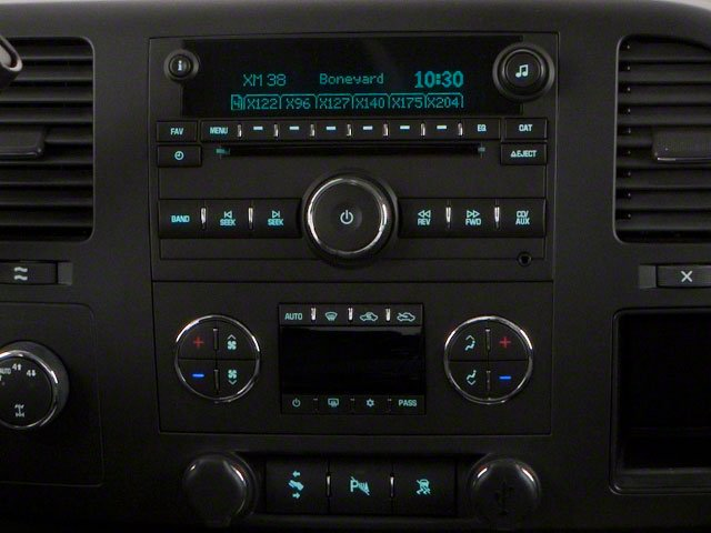 2010 GMC Sierra 1500 Pictures Sierra 1500 Crew Cab SL 4WD photos center console