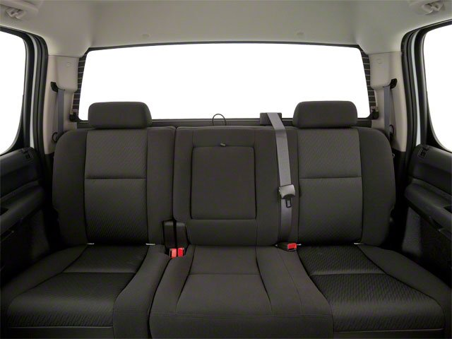 2010 GMC Sierra 1500 Prices and Values Crew Cab XFE 2WD backseat interior