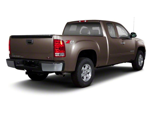 2010 GMC Sierra 1500 Prices and Values Extended Cab SLT 2WD side rear view