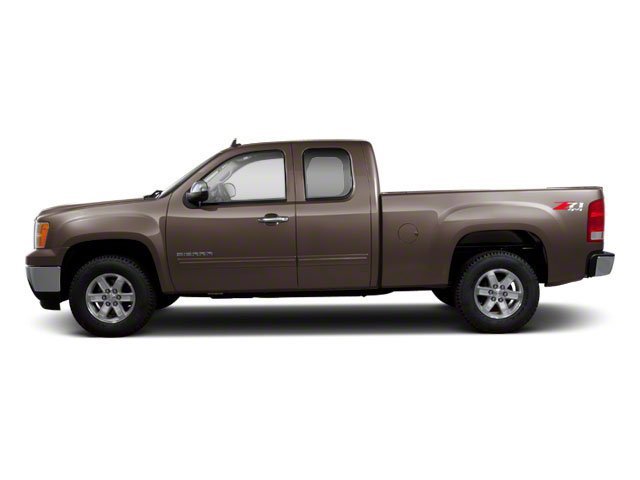 2010 GMC Sierra 1500 Prices and Values Extended Cab SLT 2WD side view