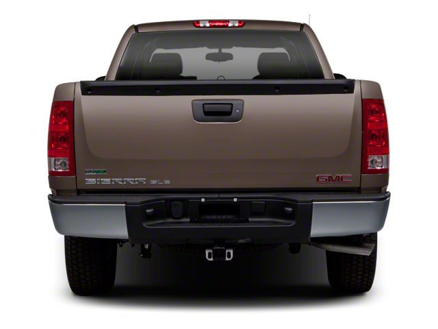 2010 GMC Sierra 1500 Prices and Values Extended Cab SLT 2WD rear view