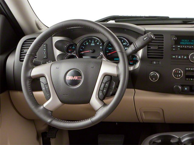 2010 GMC Sierra 1500 Prices and Values Extended Cab SLT 2WD driver's dashboard