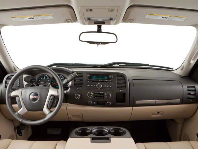 2010 GMC Sierra 1500 Prices and Values Extended Cab SLT 2WD full dashboard