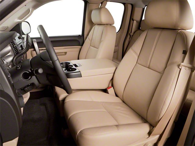 2010 GMC Sierra 1500 Prices and Values Extended Cab SLT 2WD front seat interior