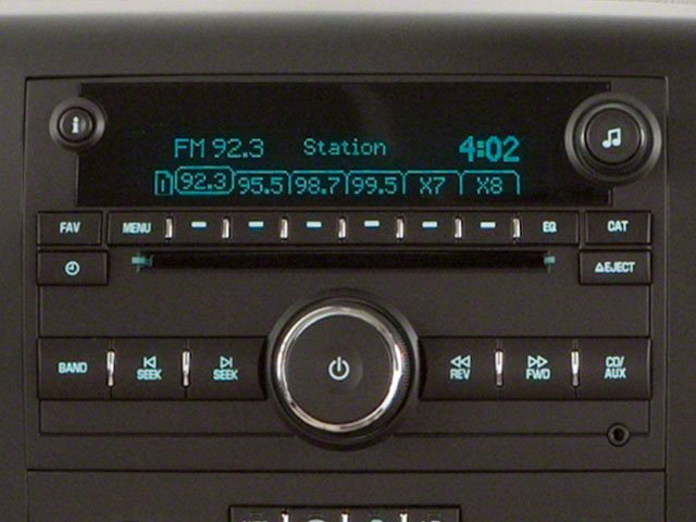 2010 GMC Sierra 1500 Prices and Values Extended Cab SLT 2WD stereo system