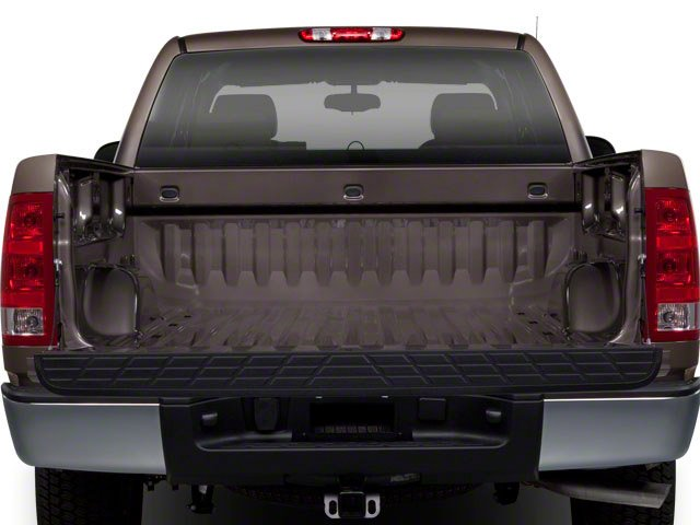 2010 GMC Sierra 1500 Prices and Values Extended Cab SLT 2WD open trunk