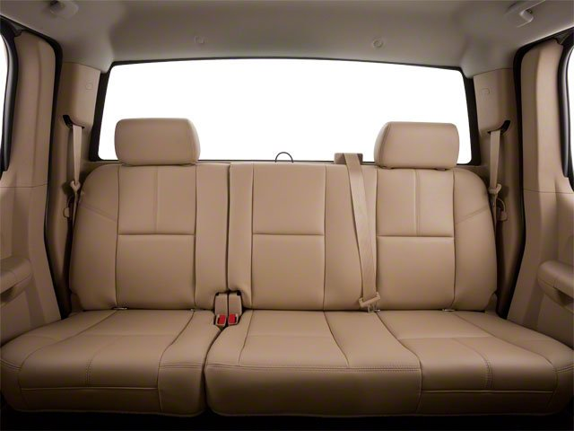 2010 GMC Sierra 1500 Prices and Values Extended Cab SLT 2WD backseat interior