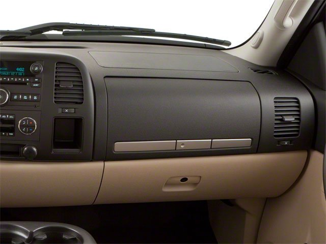 2010 GMC Sierra 1500 Prices and Values Extended Cab SLT 2WD passenger's dashboard