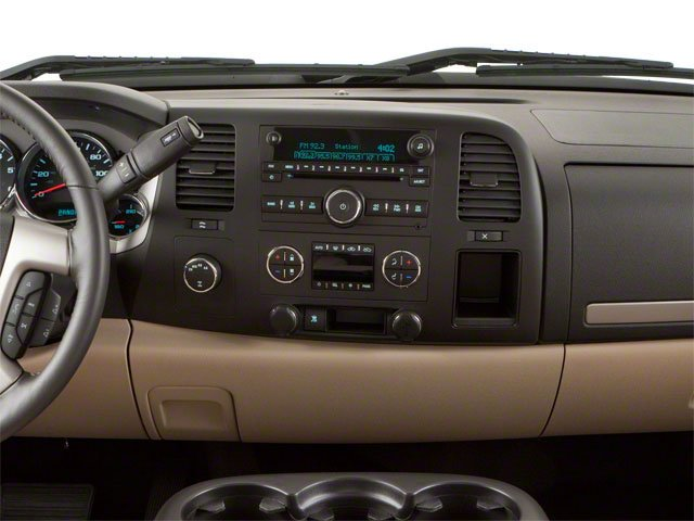 2010 GMC Sierra 1500 Prices and Values Extended Cab SLT 2WD center dashboard