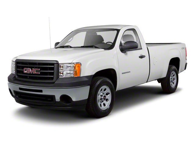 2010 GMC Sierra 1500 Prices and Values Regular Cab SLE 2WD side front view