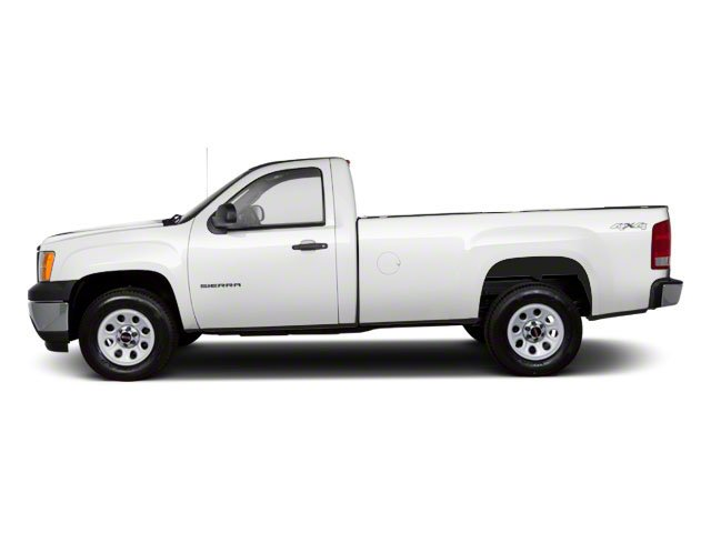2010 GMC Sierra 1500 Prices and Values Regular Cab SLE 2WD side view