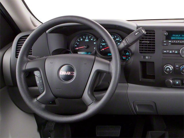2010 GMC Sierra 1500 Prices and Values Regular Cab SLE 2WD driver's dashboard