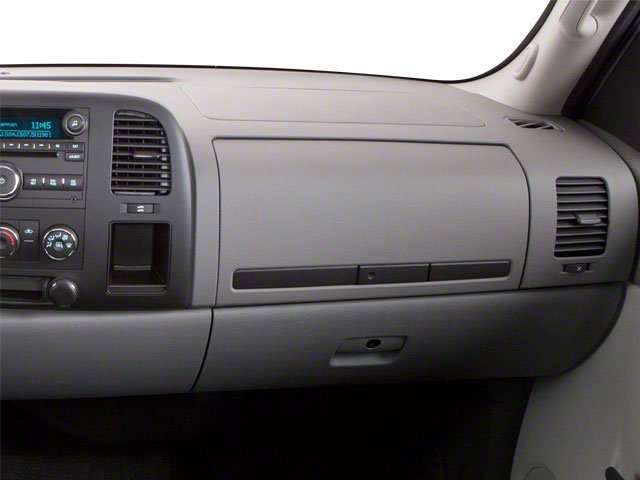 2010 GMC Sierra 1500 Prices and Values Regular Cab SLE 2WD passenger's dashboard