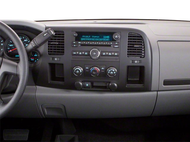 2010 GMC Sierra 1500 Prices and Values Regular Cab SLE 2WD center dashboard