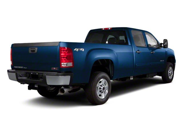 2010 GMC Sierra 2500HD Prices and Values Crew Cab SLT 2WD side rear view