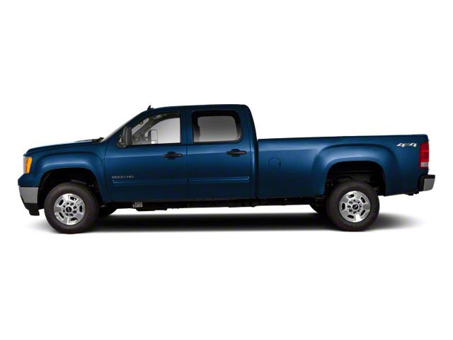 2010 GMC Sierra 2500HD Prices and Values Crew Cab SLT 2WD side view