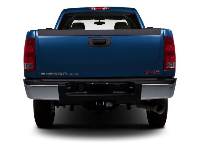 2010 GMC Sierra 2500HD Prices and Values Crew Cab SLT 2WD rear view
