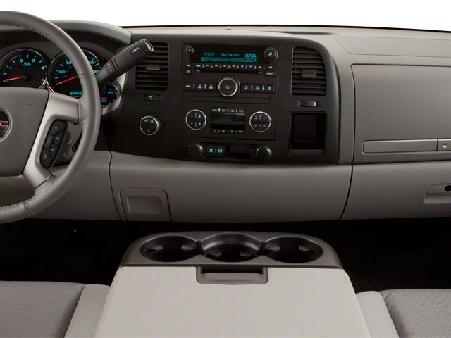 2010 GMC Sierra 2500HD Prices and Values Crew Cab SLT 2WD center dashboard
