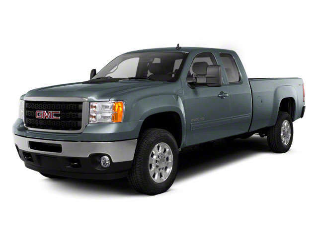 2010 GMC Sierra 2500HD Prices and Values Extended Cab SLE 4WD side front view