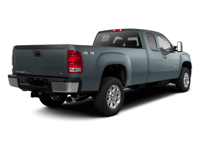 2010 GMC Sierra 2500HD Prices and Values Extended Cab SLE 4WD side rear view