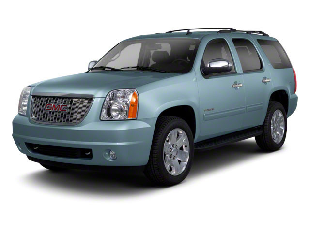 2010 GMC Yukon Pictures Yukon Utility 4D SLE 4WD photos side front view