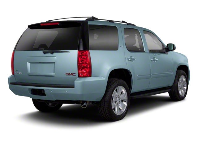 2010 GMC Yukon Pictures Yukon Utility 4D SLE 4WD photos side rear view