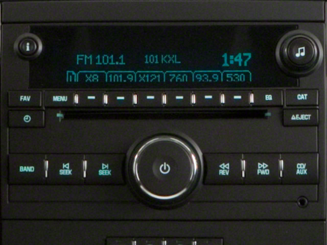 2010 GMC Yukon XL Prices and Values Utility K2500 SLT 4WD stereo system
